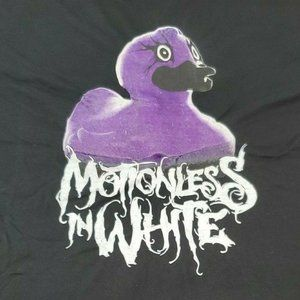 Motionless In White What The Duck XL T-Shirt